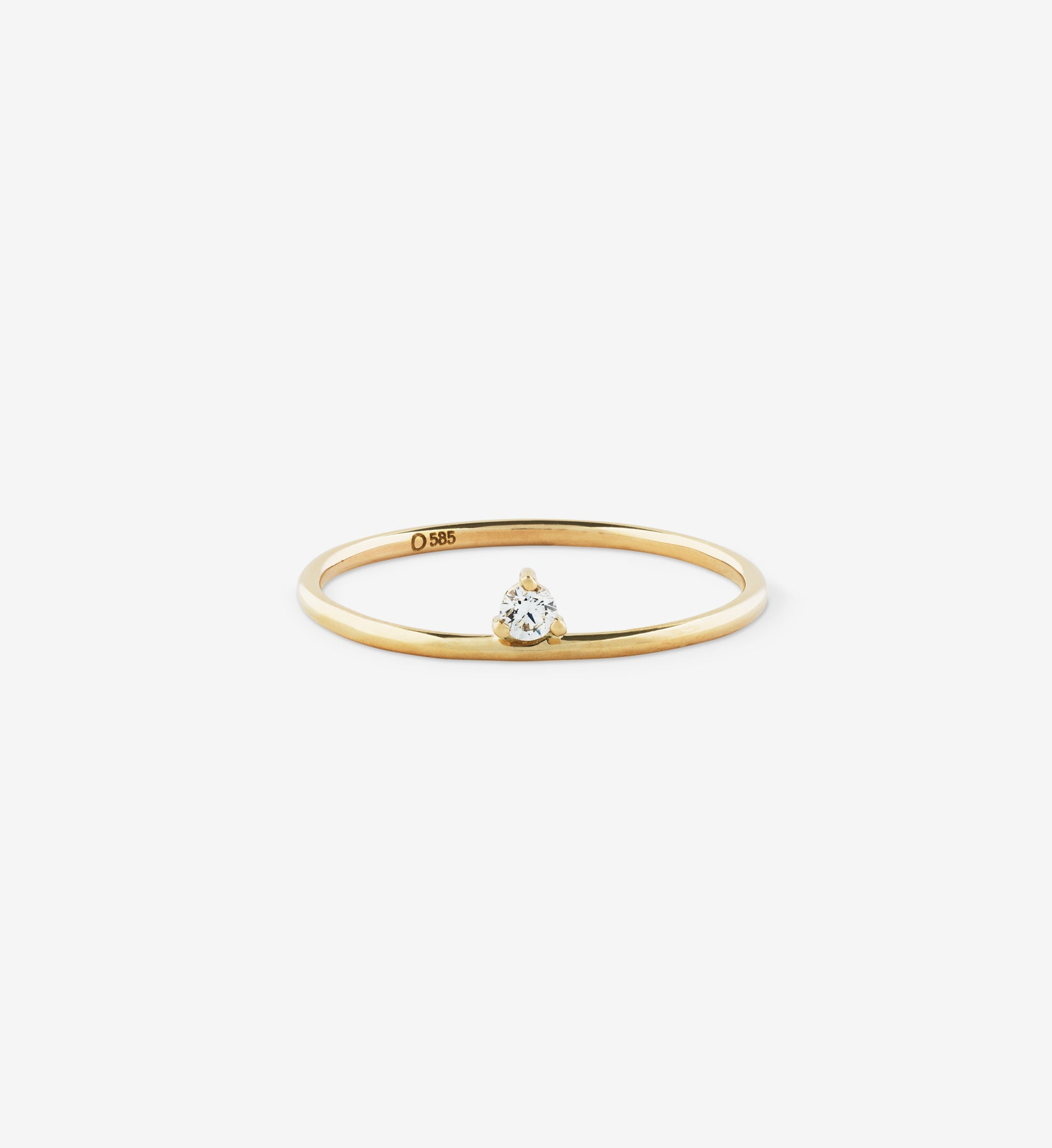 Floating Diamond Ring 0.05