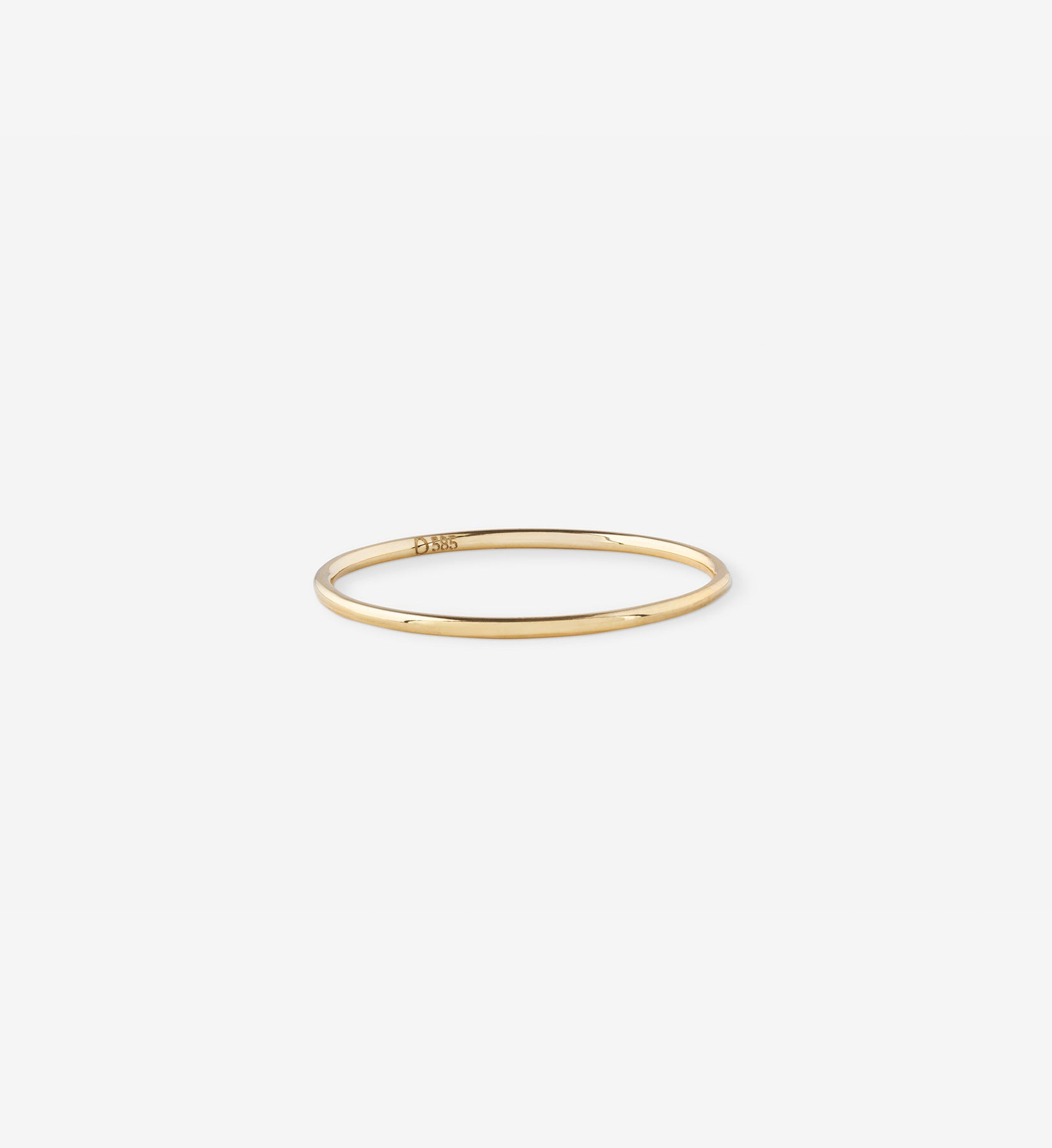 Petite Stacking Ring in 14K Gold