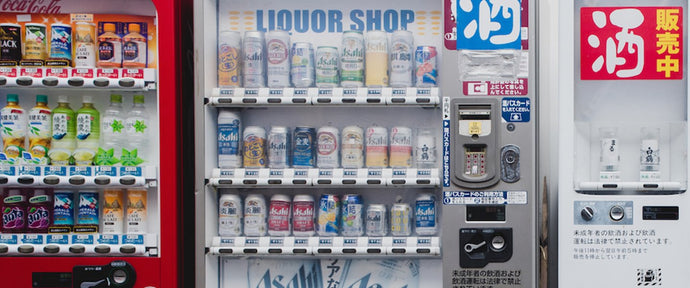 Japanese Vending Machine Culture