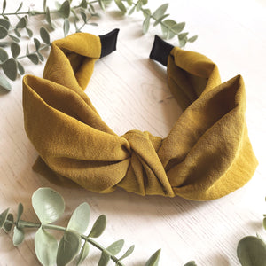 Olive Messy Bow Original