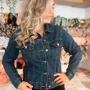 Lightweight Preloved Brit Weather Denim Jacket - S