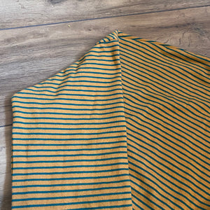 Brit Weather Striped Preloved Cropped Top, size S