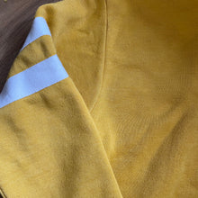 Load image into Gallery viewer, Preloved Cropped Mustard Mountain Hoodie, Size S