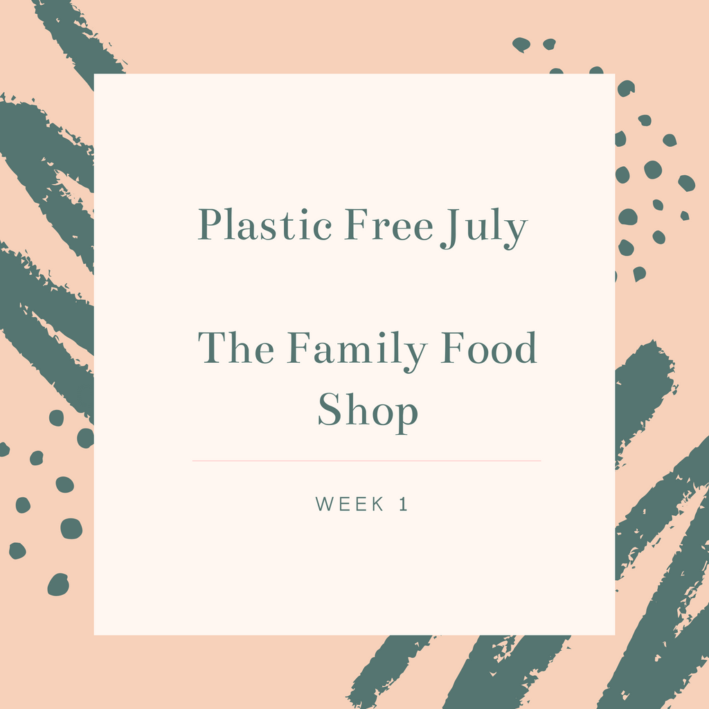 Plastic Free July Family Food Shop