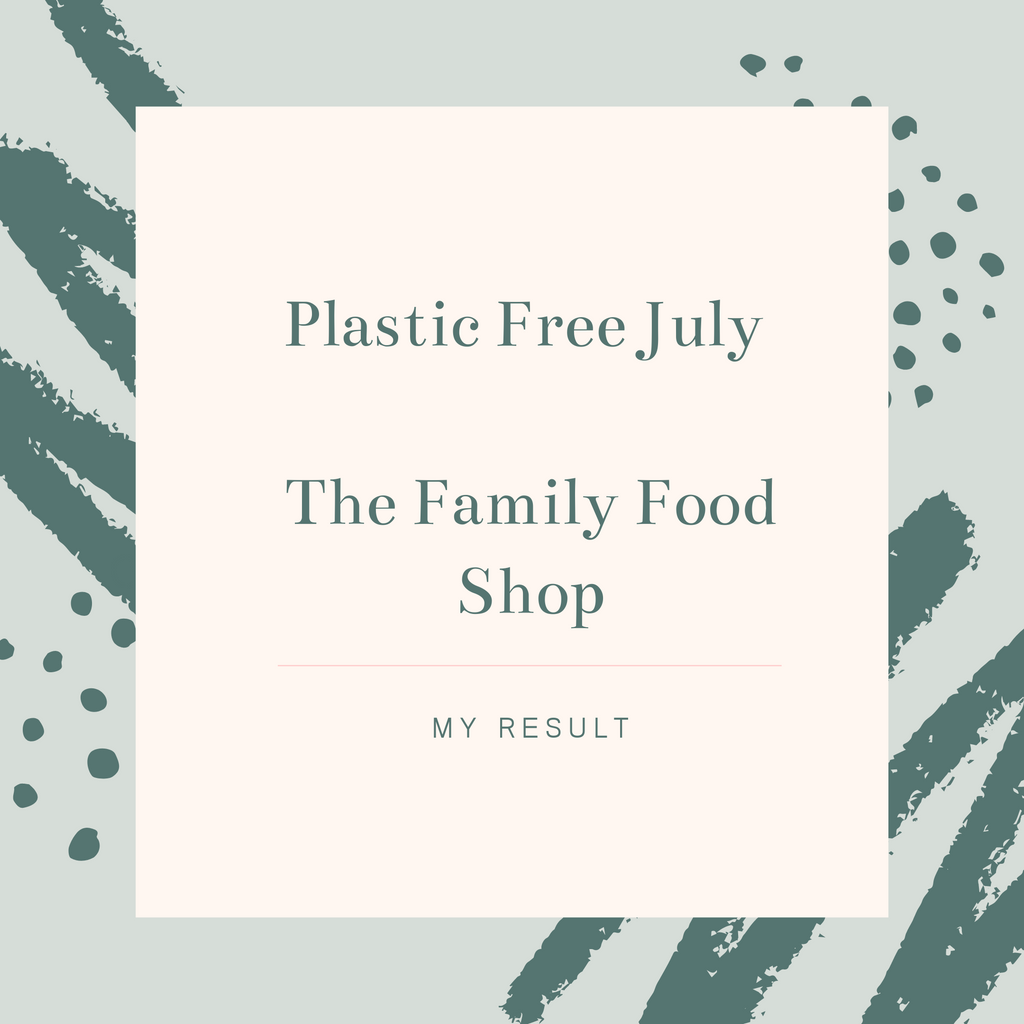 My Plastic-free July - Result
