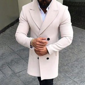 Gentleman Long Length Woolen Coat