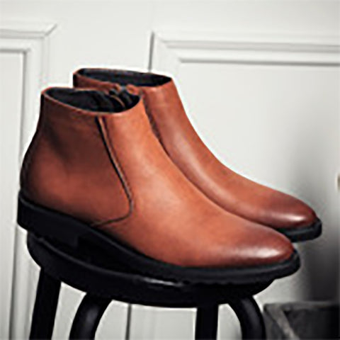 Men's Retro British Garment Casual Martin Boots