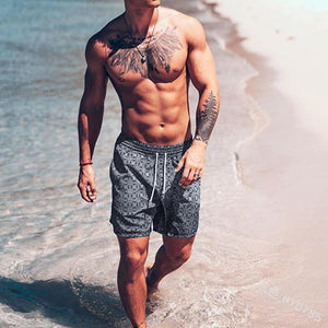 Men's Beach Pants Casual Stretch Shorts