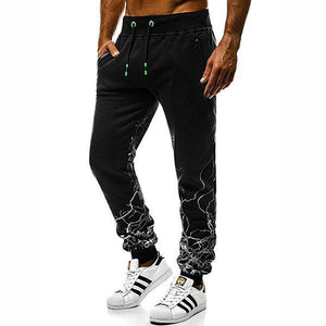 Casual Slim Fit Straight Type Sports Pants