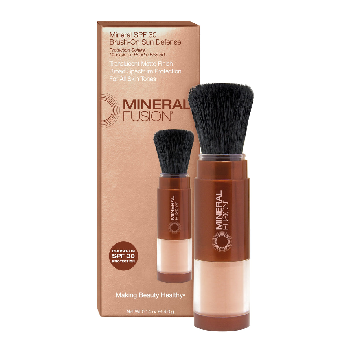 Mineral SPF 30 Brush-On Sun Defense - Mineral Fusion