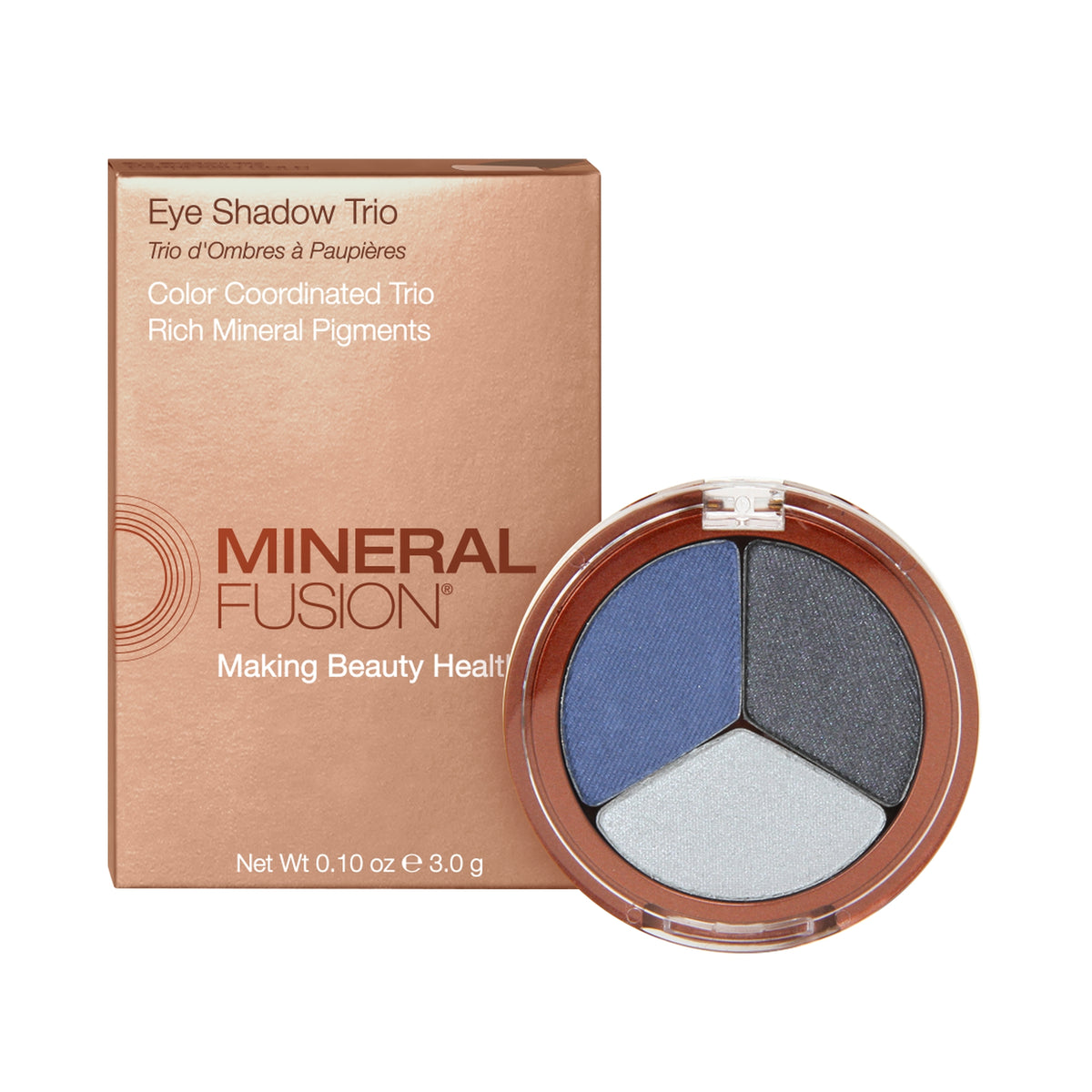 Mineral Fusion Eye Shadow Trio in Stormy