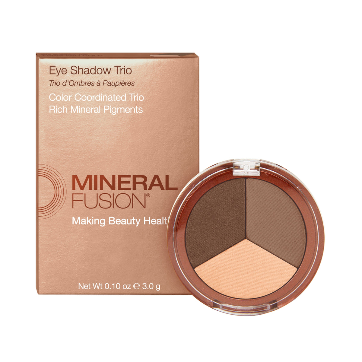Mineral Fusion Eye Shadow Trio in Fragile