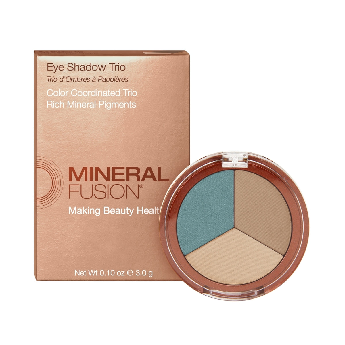 Mineral Fusion Eye Shadow Trio in Riveria