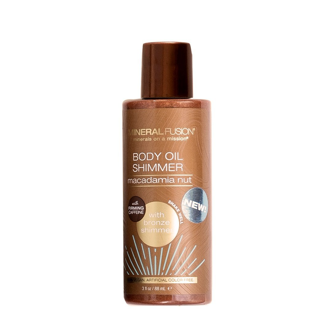Body Oil Shimmer - Bronze - Mineral Fusion