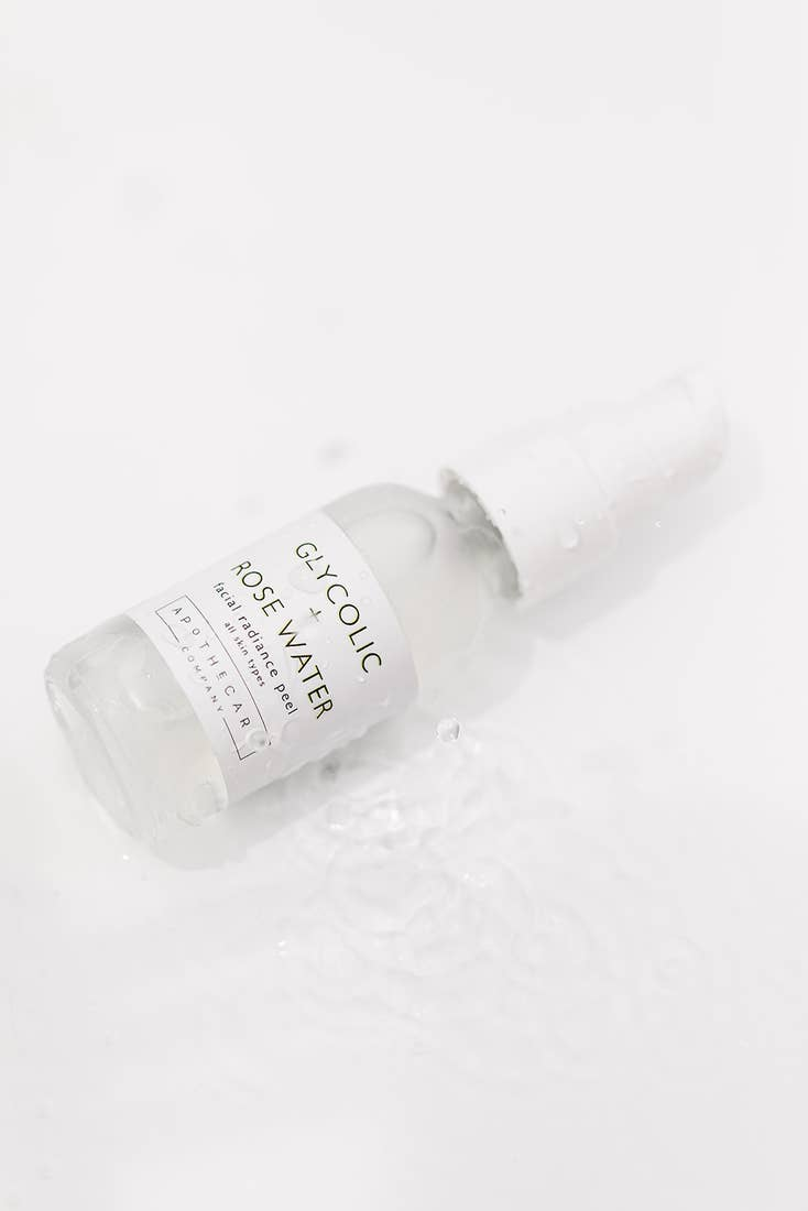 Glycolic + Rosewater Facial Peel