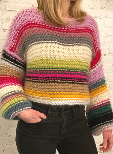 The Sofie Rainbow Sweater