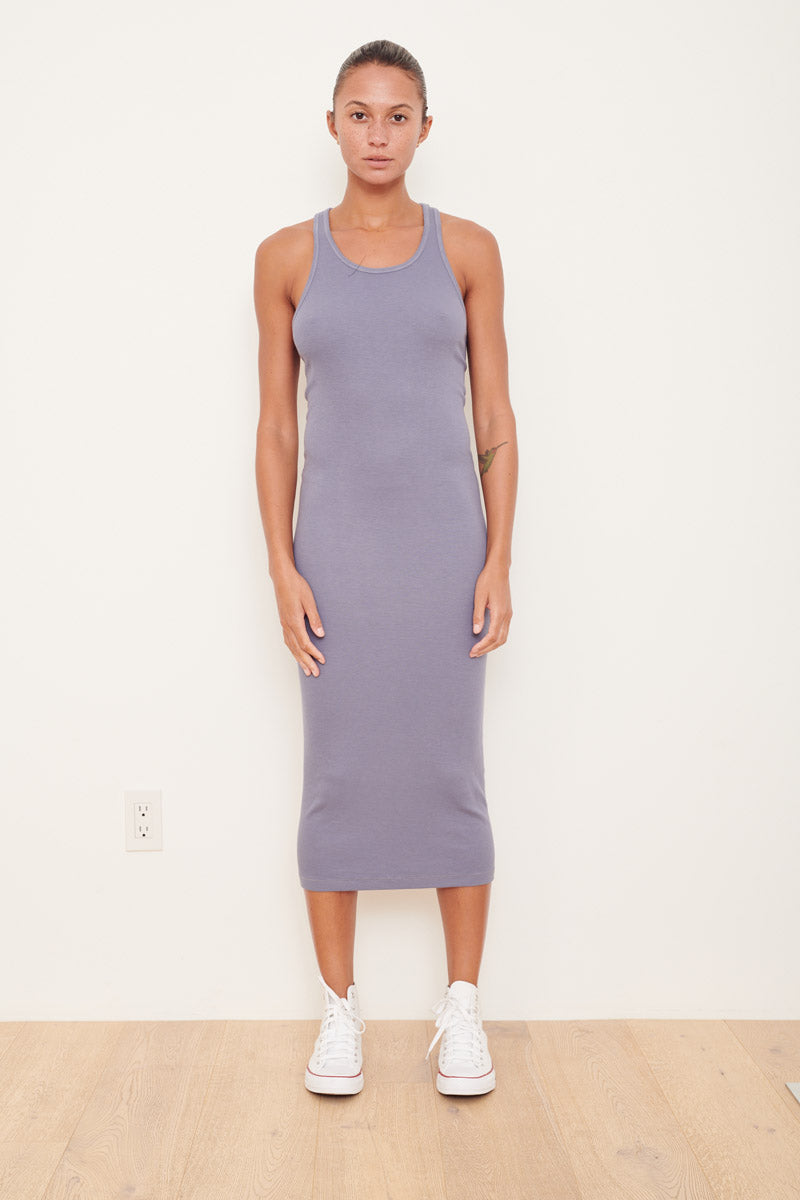 Rib Racer Back Dress