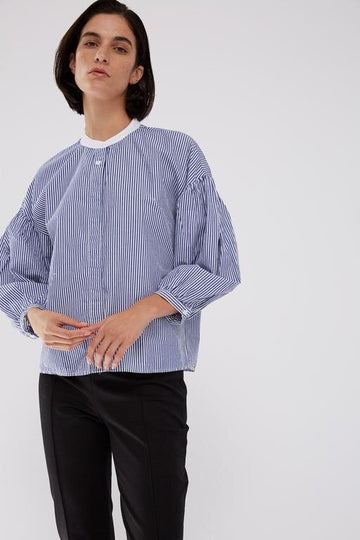 Poplin Stripe Buttondown