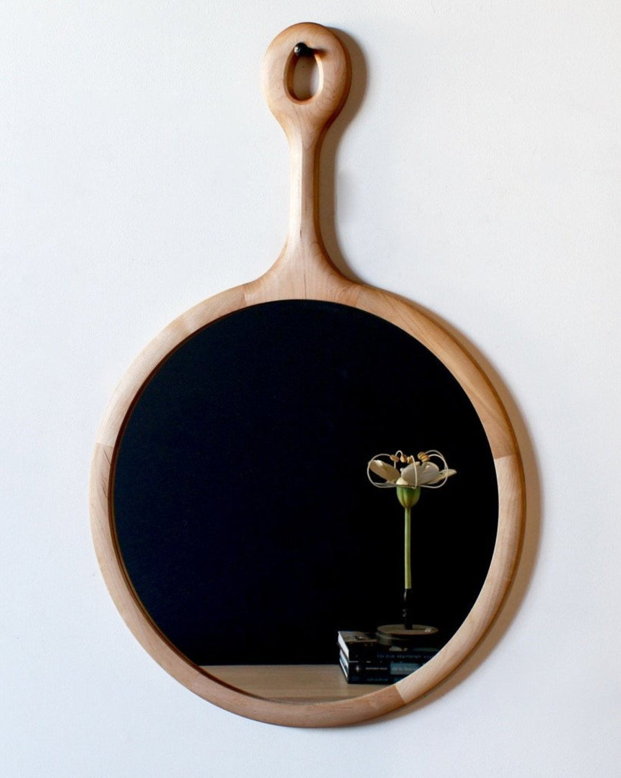 Sophia Maple Mirror