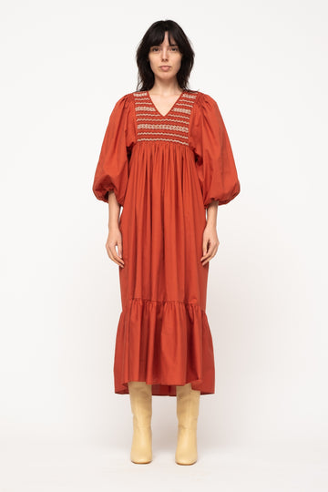 Gladys Puff Sleeve Dress