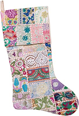 Patchwork Cotton Stocking