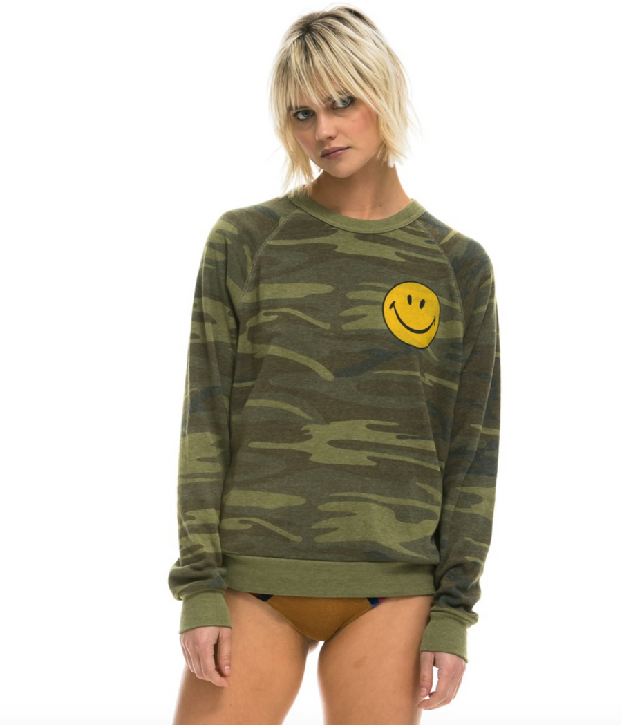 Smiley Crew Sweatshirt