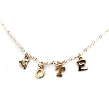 JT Vote Necklace