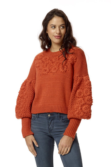 Foliage Knit Sweater