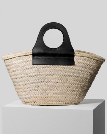 Cabas Straw Tote
