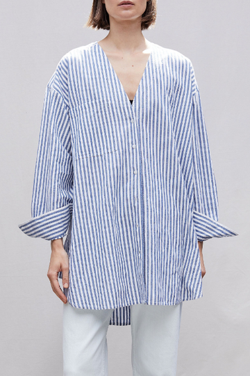Varna Oversized Button Up