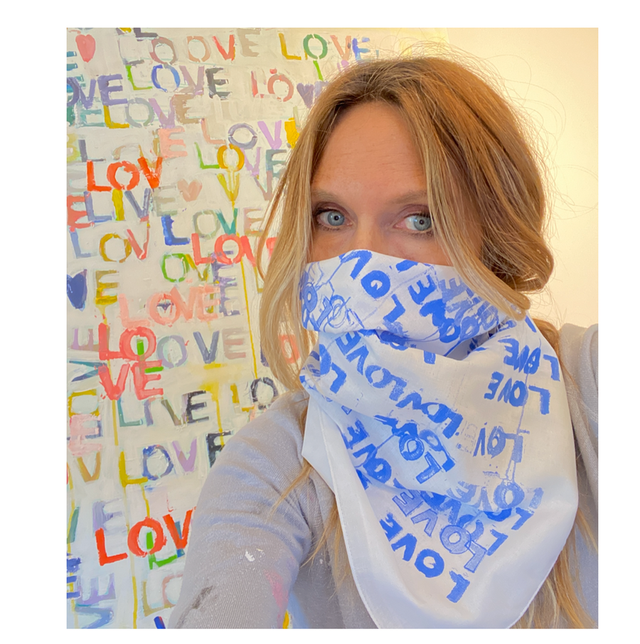 Love Letter Blues Bandana