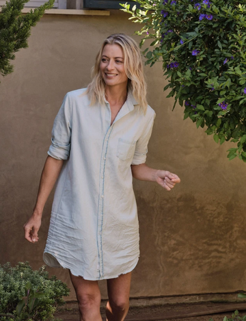 Mary Button Up Dress