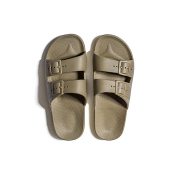 Basic Khaki Slides