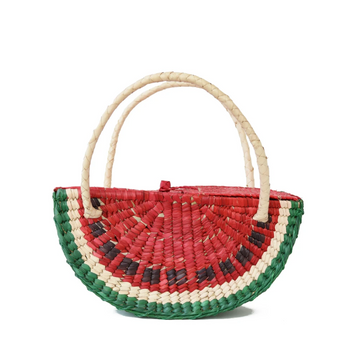Watermelon Straw Bag