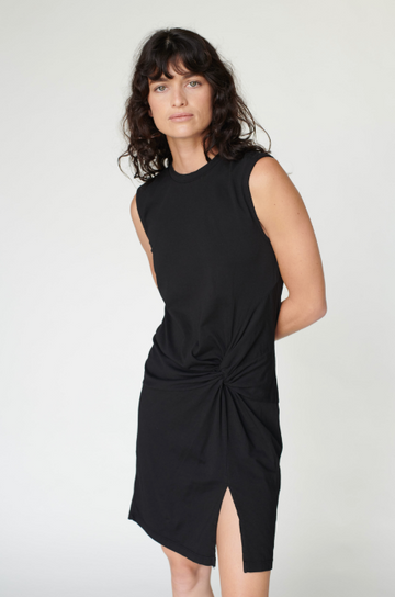 Supima Side Twist Dress
