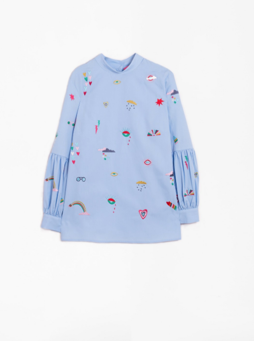 Lola Embroidered Shirt