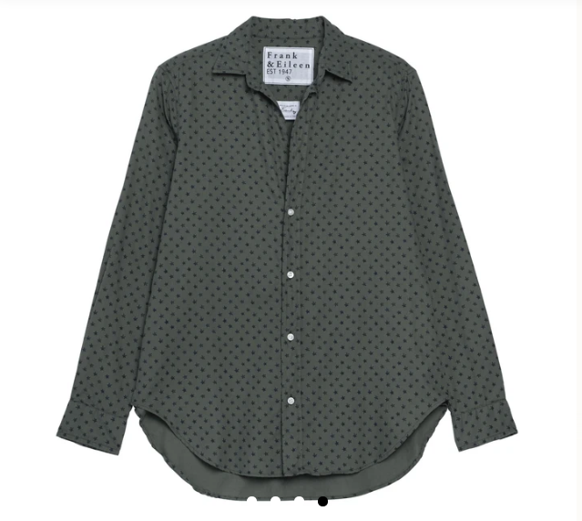 Frank Woven Stars Button Up