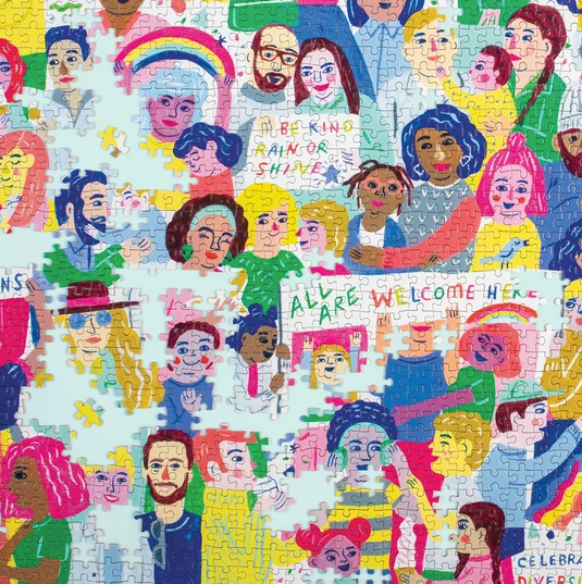 All Are Welcome Here Puzzle