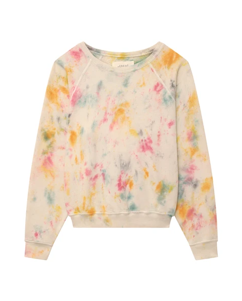 The Confetti Shrunken Sweatshirt