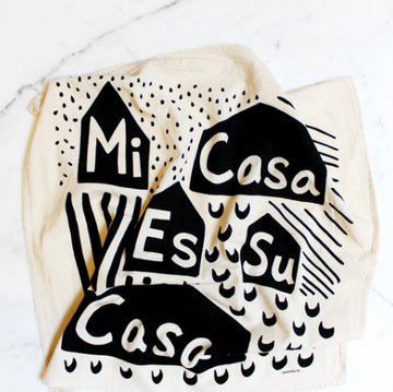 Mi Casa Tea Towel
