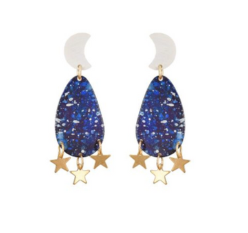 Mini Galaxy Earrings