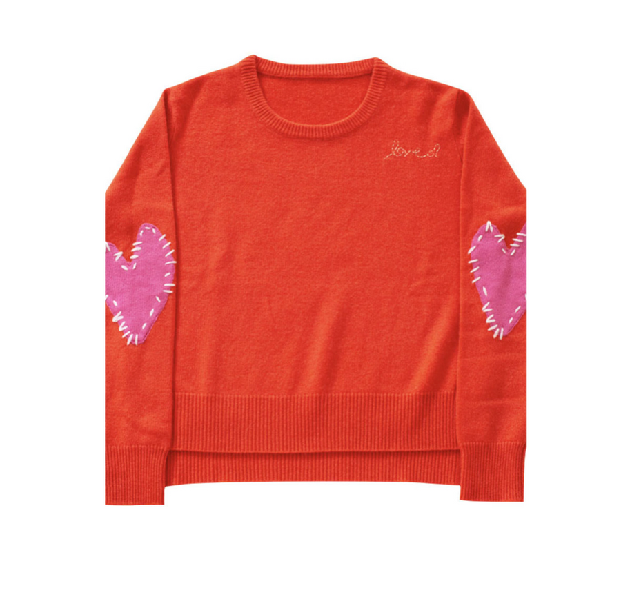 Patchwork Love Sweatshirt