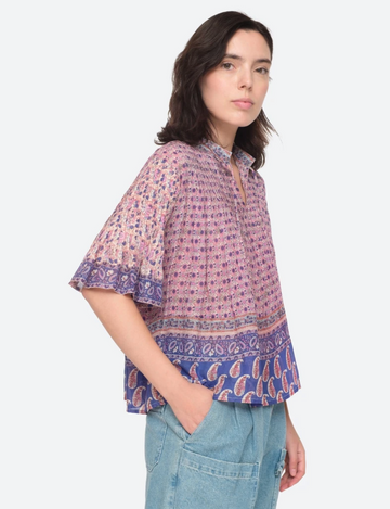 Bianca Pintucked Top