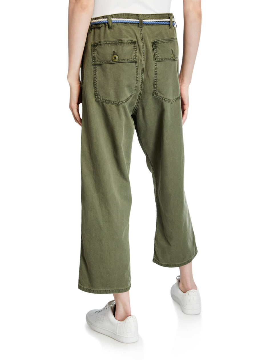 Vintage Green Army Pant