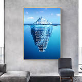 Iceberg of Success Canvas