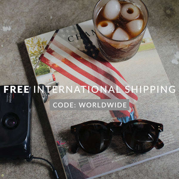 FREE International Shipping Until This Sunday
