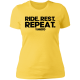 Ride. Rest. Repeat - Dark Print