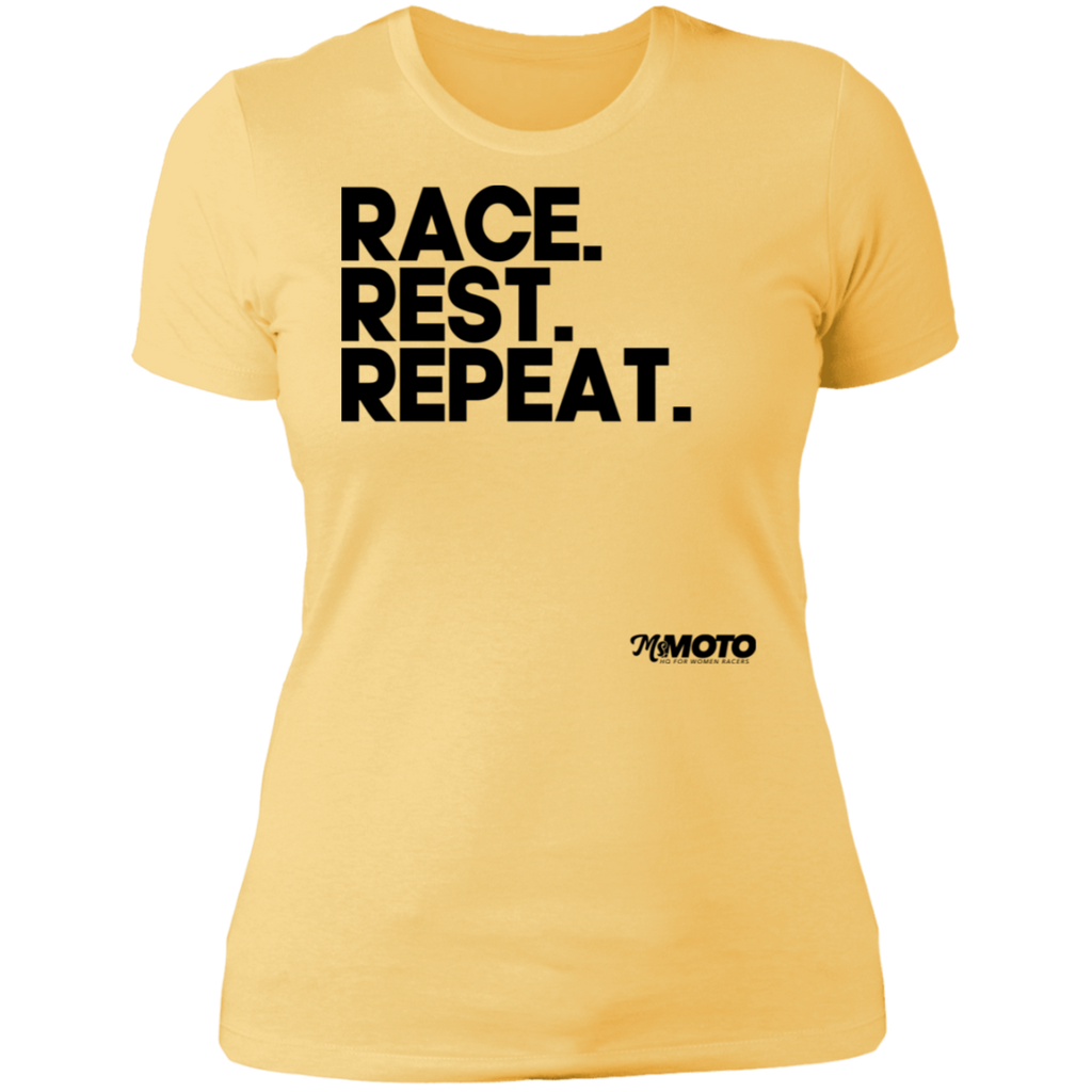 Race. Rest. Repeat. - Dark Print