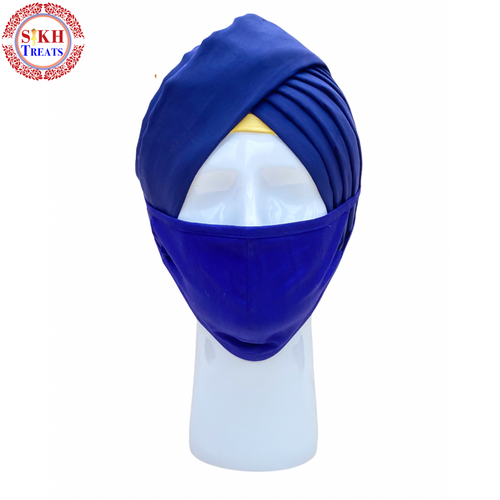 Face Mask | Plain | Royal Blue