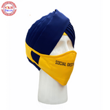 Face Mask | Social DistanSingh | Yellow |